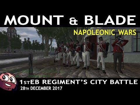 Napoleonic Wars | 1stEB Regiment's City Event - 28th December 2017