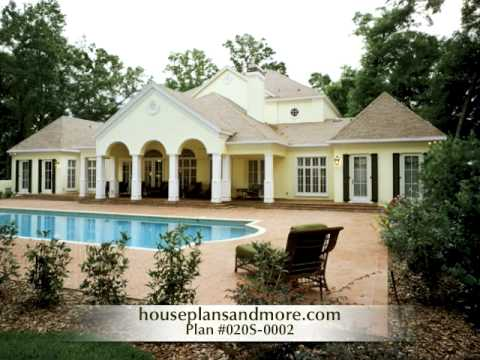 Southern Plantation Homes Video 1 House Plans And More