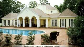 Southern Plantation Homes Video 1 | House Plans And More