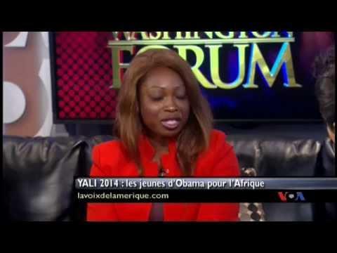 Washington Forum - YALI 2014 : les jeunes d'Obama pour l'Afrique - 07.31.14