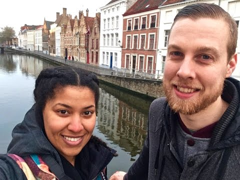 Anniversary weekend|| Bruges Belgium + Canal Boat Tour &  Friet Museum