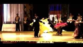 Campeonato de Europa de Bailes de Salón 2014 -  Julia Ruiz Fernández y Alfonso Lopez