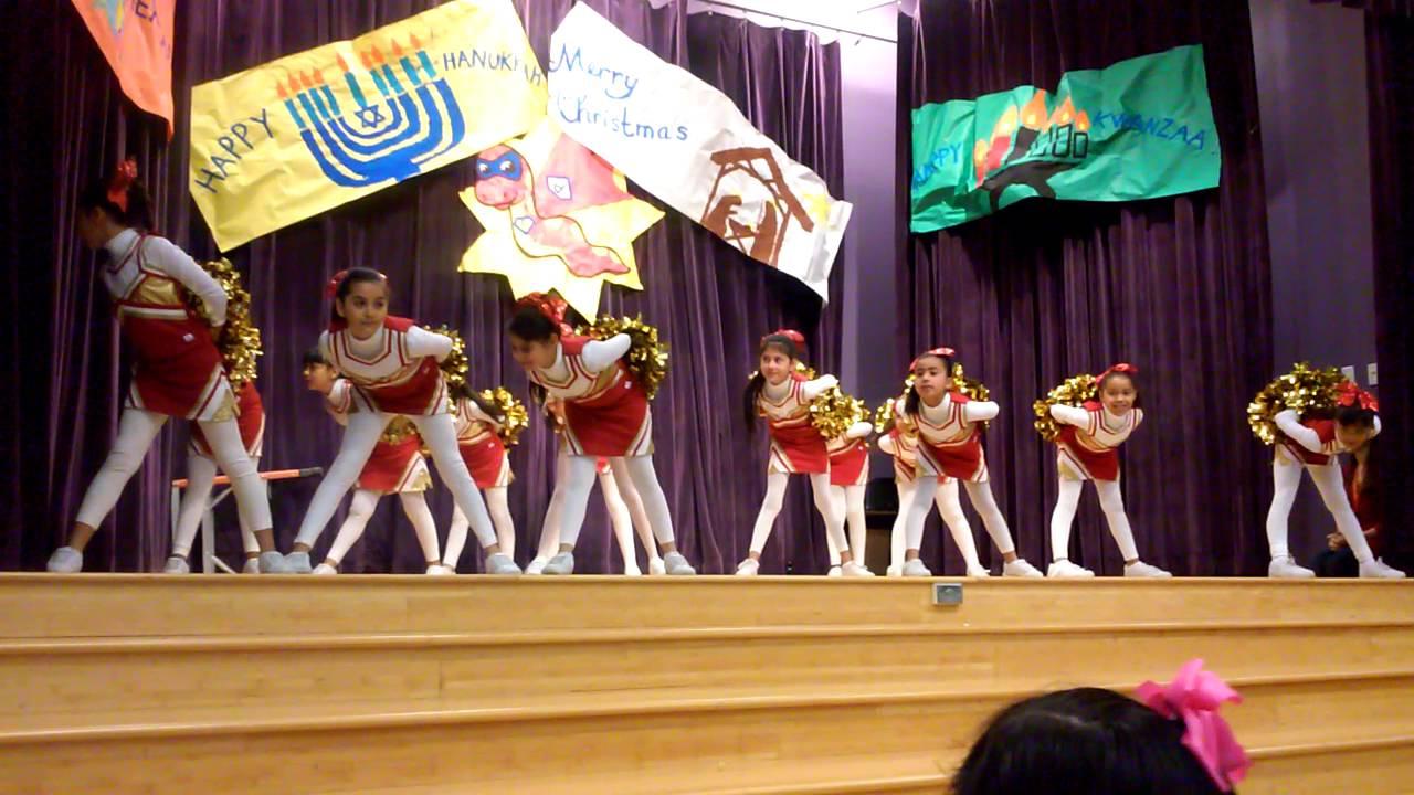 Perez Pythons Elementary Cheerleaders