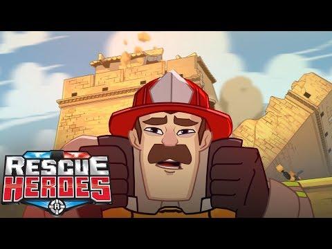 Rescue Heroes™ - Billy Blazes Gets Sick!   Episode 10   Videos For Kids   Kids Heroes   Cartoon