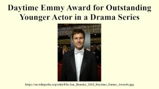 Daytime Emmy Award for Outstanding Younger Actor in a Drama Series