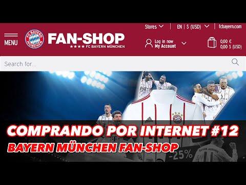 COMPRANDO POR INTERNET #12   BAYERN MÜNCHEN FAN-SHOP