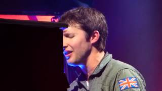 James Blunt - Miss America live Hamburg O2 World 04.03.2014