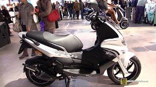 2015 Gilera Runner 50 2T Scooter - Walkaround - 2014 EICMA Milan Motorcycle Exhibition