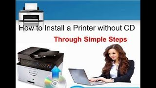 How to install a printer without the cd driver