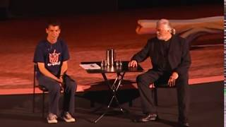 Jon Lord in conversation at the Sydney Opera House 2003
