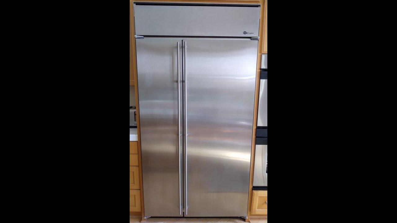 Ge Monogram Refrigerator Defrost Problem Youtube