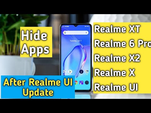 After realme UI update how to hide Apps in realme XT/X/5pro/X2 how to hide Apps in realme UI