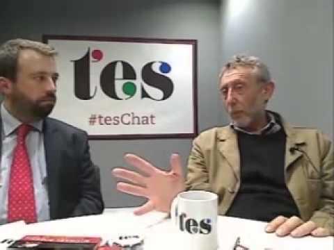 Michael Rosen on TES Web Chat