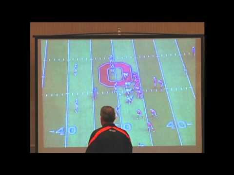 O Line Play   Zone Read by Ed Warinner @ Ohio State 2014