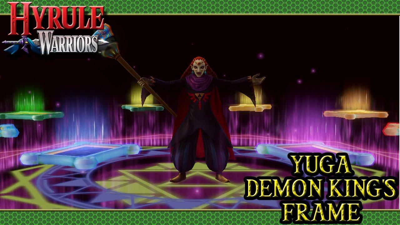 Hyrule Warriors Dlc Yuga Demon King S Frame Youtube
