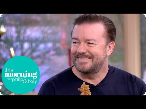 Ricky Gervais Goes Gaga Over Luna the Dog and Has Holly and Phillip in Stitches | This Morning