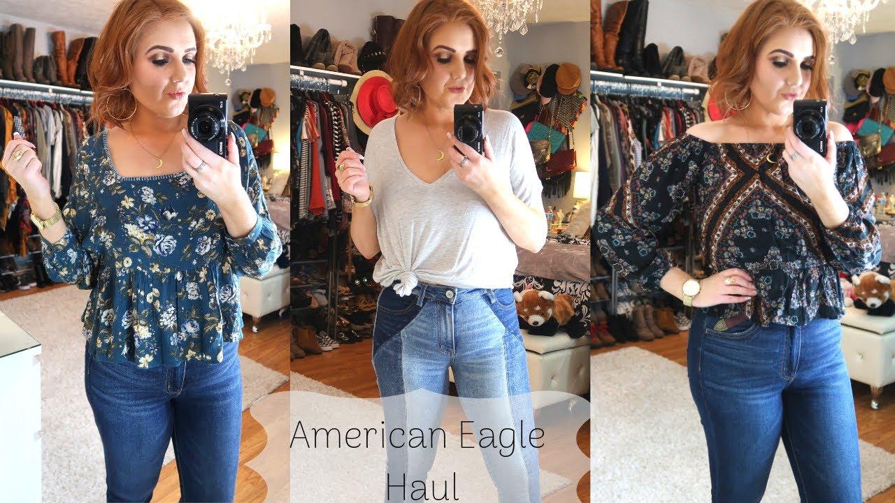 1795629a90e American Eagle Try on Haul! - YouTube