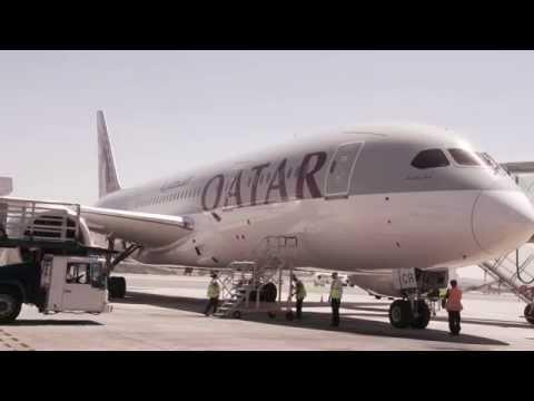 Madrid Welcomes The Qatar Airways Boeing 787 Dreamliner