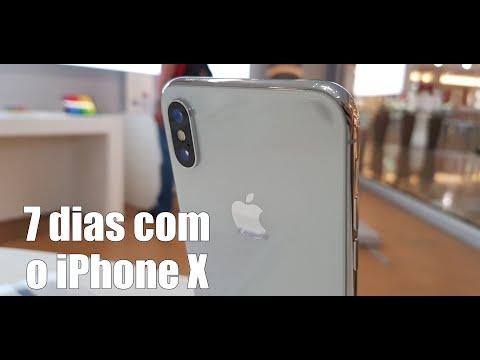 Uma Semana Com O IPhone X