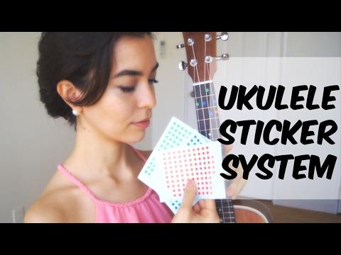 Ukulele School - Sticker System