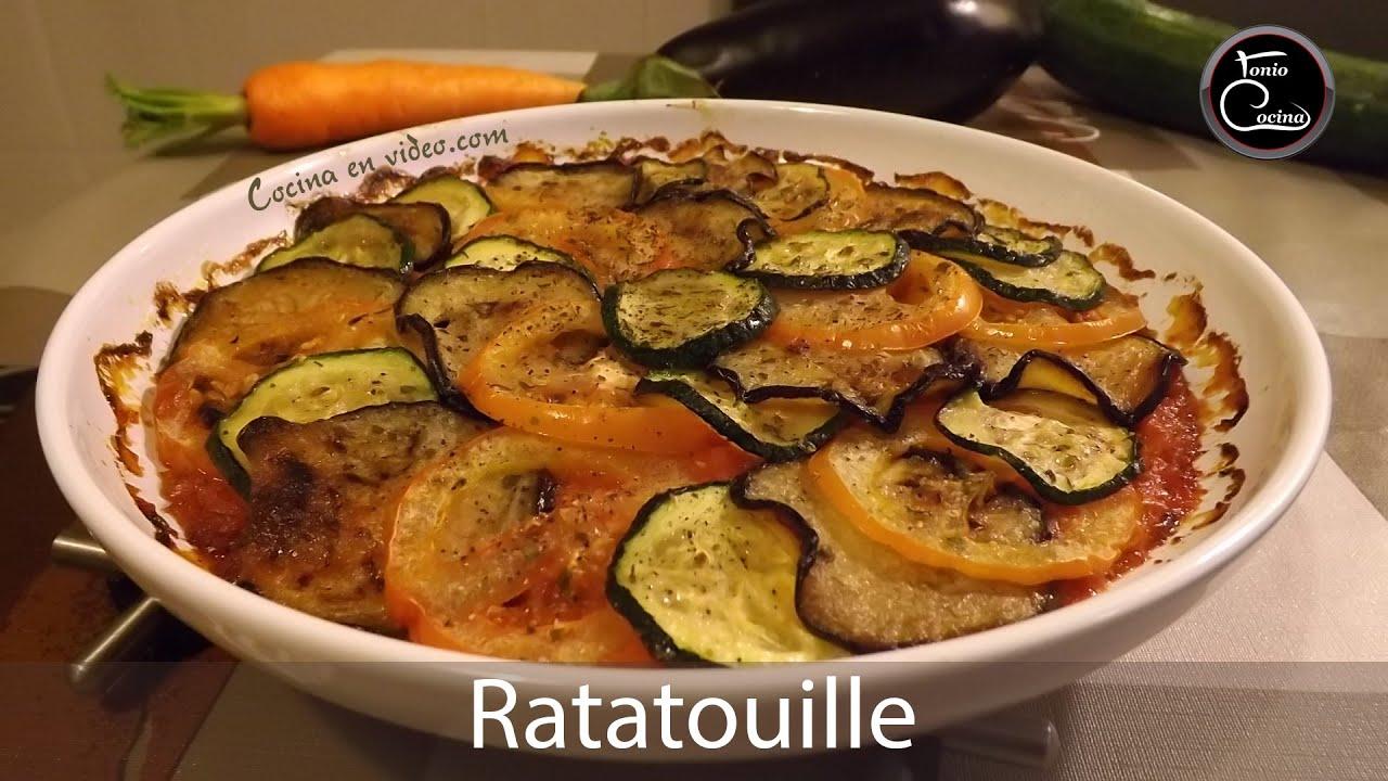 C mo hacer ratatouille r pido y f cil tonio cocina - Cocinar facil y rapido ...