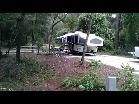 Rock Springs Kelly Park Pop Up Camper RV Rental Apopka