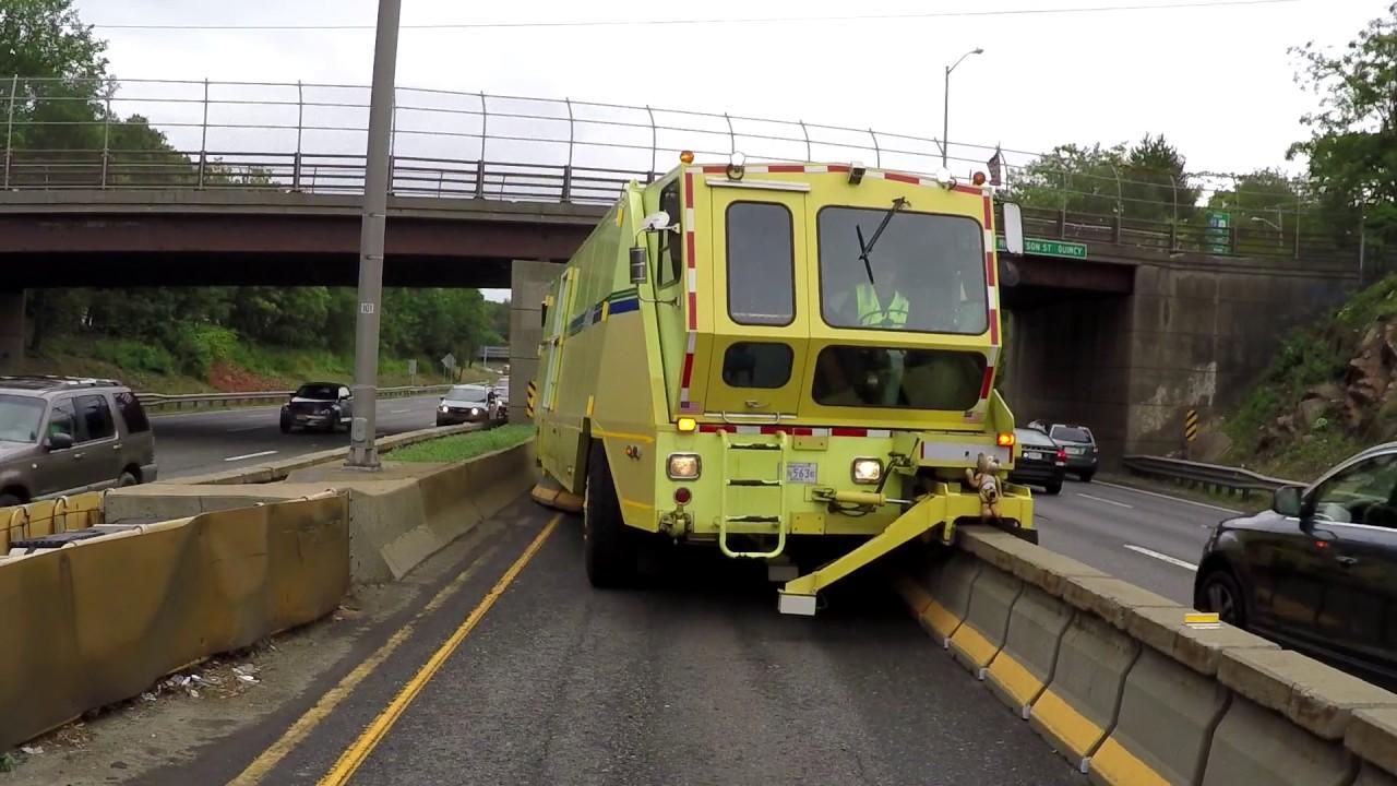 Boston I-93 HOV Lanes