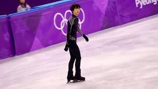 PyeongChang Olympic practice2/17 Men FS Yuzuru Hanyu「SEIMEI」