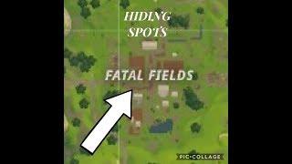 Fortnite Hiding Spots - Not Glitches