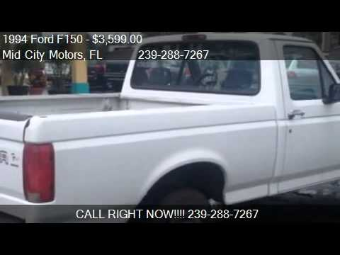 1994 Ford F150 S Reg Cab Short Bed 2wd For Sale In Fort