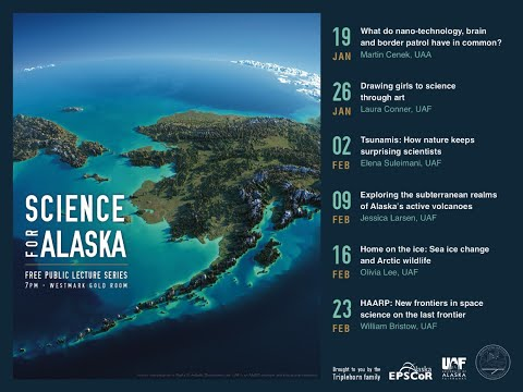Science for Alaska Lecture Series 2016 - Martin Cenek, Assistant Professor, UAA