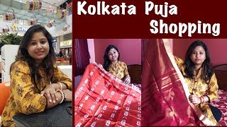 Durga Puja Shopping | Kolkata Saree Haul