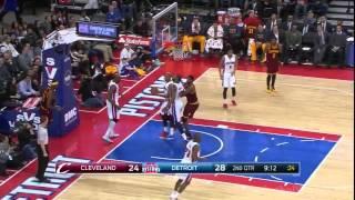 Cleveland Cavaliers vs Detroit Pistons  | Full Game Highlights  | Jan 27, 2015   NBA 2014 15 Season