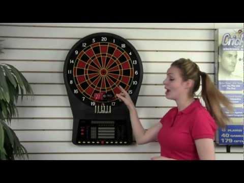 Arachnid CricketPro 800 Electronic Dartboard (Item # E800ARA)