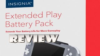 Insignia Extended Play Portable Charger (Switch Lite) Review (Video Game Video Review)
