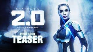 Robo 2.0 first look teaser | 2.0 Amy jackson Motion teaser | Enthiran 2Point0 First Look Rajinikanth