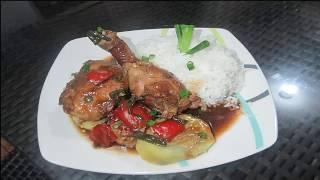 Como preparar un delicioso Pollo al Sillao peruano