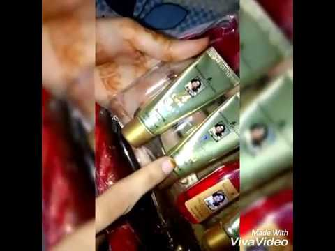 bbbc506023 Shahnaz husain gold facial kit Review - YouTube