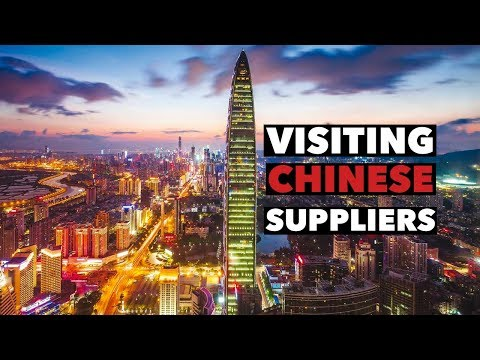 Visiting Chinese Suppliers in Shenzhen China - Amazon FBA Update