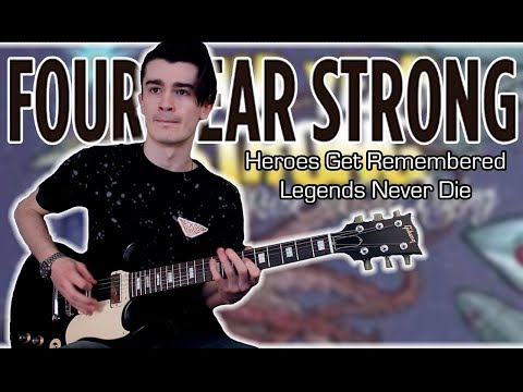 Four Year Strong - Heroes Get Remembered, Legends Never Die (Guitar & Bass Cover w/ Tabs)