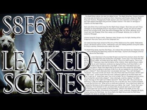 Season 8 Finale Leaked Outline ! | Game of Thrones Season 8 Episode 6