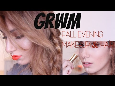 Get Ready With Me: A Fall Evening of Jazz Part 1 // Make-up and Easy Hair-do | Farah Asif
