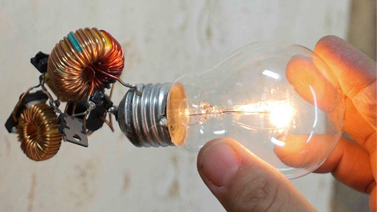 free energy light bulb trick i insist trickkkkk youtube rh youtube com Circuit Light Bulb Project Circuit Battery Light Bulb Drawing