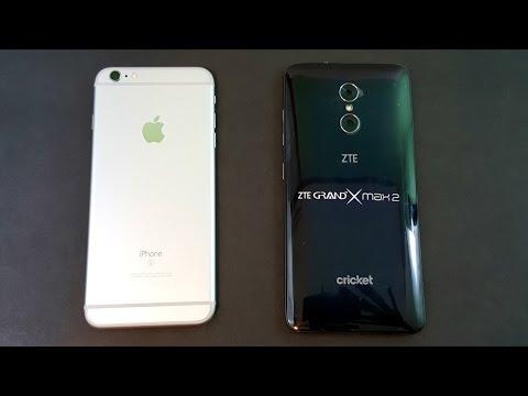 iPhone 6S Plus vs ZTE Grand X Max 2