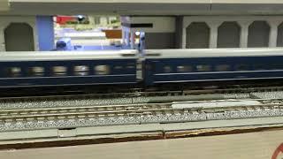 鉄道模型 Nゲージ TOMIX EF65 1112牽引 JR24系客車さよなら銀河 その3 ポポンデッタイオンモール水戸内原 2020.07.12