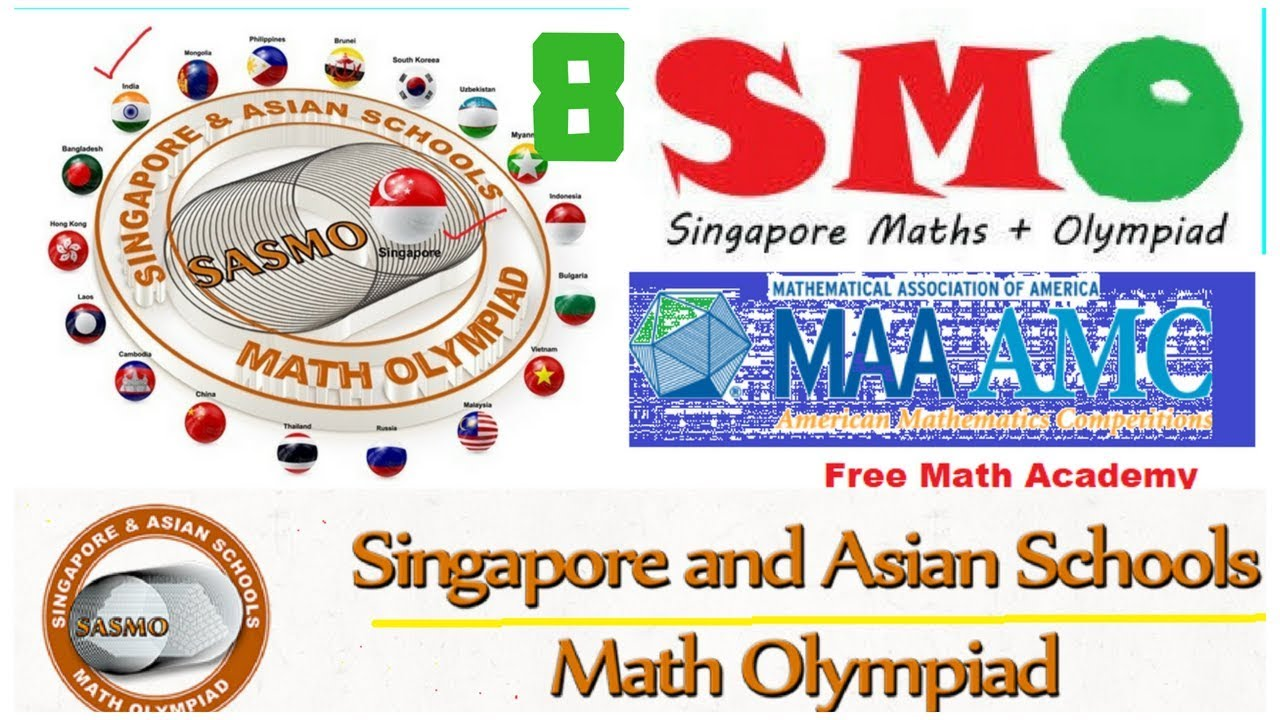 Singapore Mathematical Olympiad (smo) | sasmo 2018 ONLINE  PREPARATION||jmo|rmo|imo PART 8