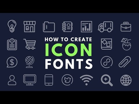 How to Create Your Own Icon Fonts