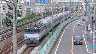 【甲種輸送】EF65 2063牽引、都営6500形(6503F)8両  2021.5.16