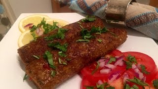 How To Make SEEKH KEBAB - Al&#39s Kitchen