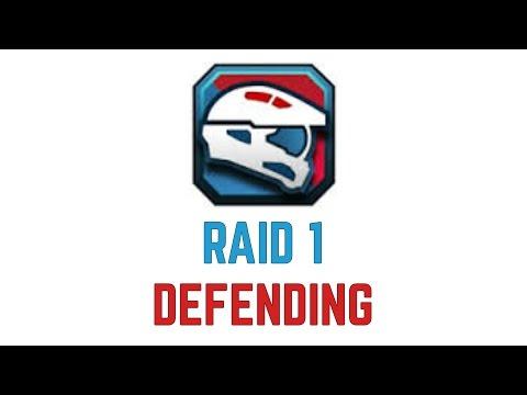 5th Fleet - Raid 1 (Defending)